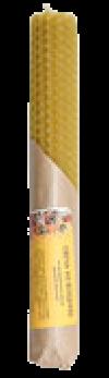 Свеча из вощины простая (желтая)