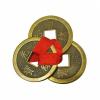 Подвеска Золотые монеты